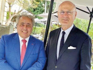 Photo of المنسق الوطني للاستخبارات الفرنسية ومكافحة الإرهاب يجتمع مع سفيرنا