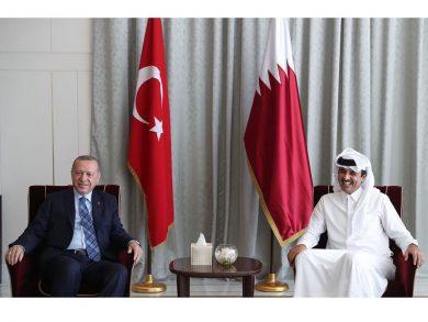 Photo of لقاء حضرة صاحب السمو وفخامة الرئيس التركي تأكيد للعلاقات الاستراتيجية بين البلدين الشقيقين