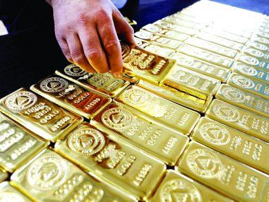 Photo of الذهب يقفز 1% مع هبوط الدولار