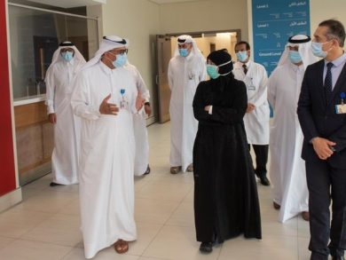 Photo of وزيرة الصحة تلتقي بعدد من المتعافين من فيروس كورونا في مستشفى مسيعيد