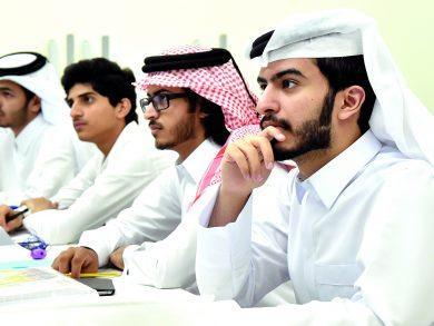 Photo of إقبال على التخصّصات العلمية بجامعة قطر