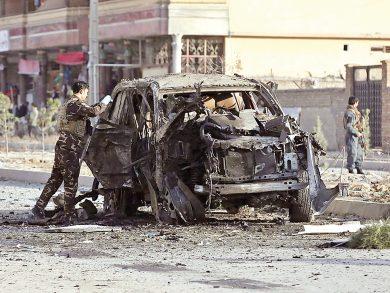 Photo of أفغانستان: إصابة 11 شرطيًا بانفجار