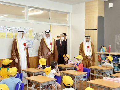 Photo of افتتاح مدرسة «أوناغاوا» اليابانيّة بتمويل قطري
