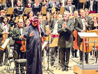 Photo of «صوت الخليج» تحتفي بمسيرة حامد النعمة