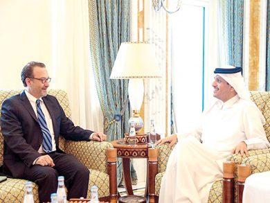 Photo of قطر وأمريكا تبحثان الأوضاع في ليبيا والأزمة الخليجية