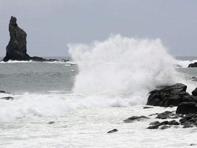 Photo of إعصار «هايشين» يقترب من جزيرة أوكيناوا اليابانية