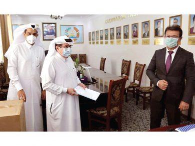 Photo of مساعدات طبية قطرية لطاجيكستان لمواجهة كورونا