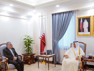 Photo of رئيس مجلس الشورى يجتمع مع السفير الإيراني