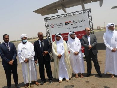 Photo of وصول طائرة مساعدات قطرية ثالثة إلى الخرطوم ضمن الجسر الجوي لحملة (سالمة يا سودان)