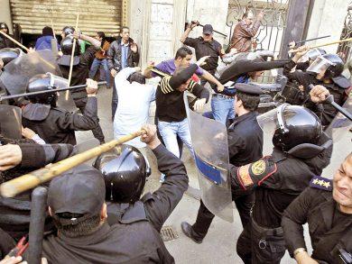 Photo of النظام المصري يقهر الاحتجاجات بـ 8 وسائل
