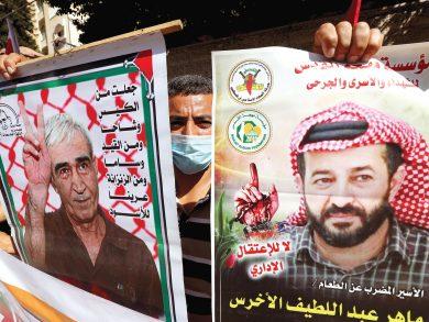 Photo of قلق فلسطيني على حياة الأسير الأخرس