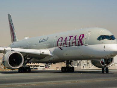 Photo of الخطوط الجوية القطرية تستلم ثلاث طائرات جديدة من طراز  إيرباص A350-1000