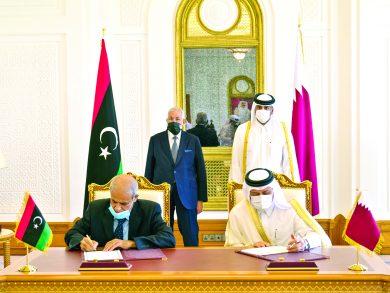 Photo of قطر وليبيا تعززان التعاون الأمني