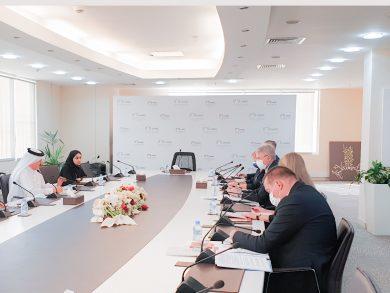 Photo of نائب رئيس اللجنة الوطنية لحقوق الإنسان يجتمع مع وزير خارجية فنلندا