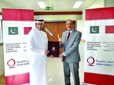 Photo of مساعدات طبية قطرية إلى باكستان