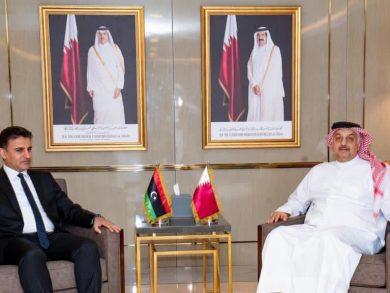 Photo of د.العطية يجتمع مع وزير الدفاع بحكومة الوفاق الوطني الليبية