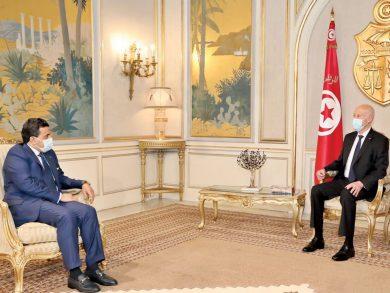 Photo of الرئيس التونسي والنائب العام يبحثان الموضوعات المشتركة