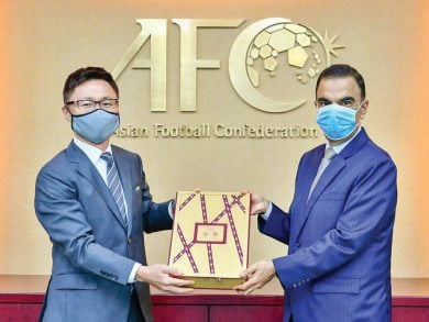 Photo of تسليم الملف النهائي لطلب استضافتنا كأس آسيا