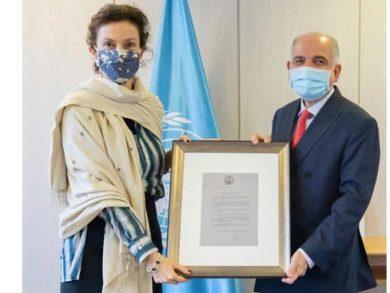 Photo of المديرة العامة لليونسكو تثمن جهود دولة قطر في دعمها المتواصل لبرامج المنظمة