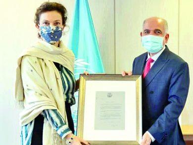 Photo of مديرة اليونسكو تثمن الدعم القطري المتواصل للمنظمة