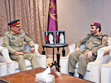 Photo of قائد الحرس الأميري يلتقي رئيس هيئة الأركان المشتركة الباكستانية
