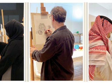Photo of ورشة للرسم في «متحف الفن الإسلامي»