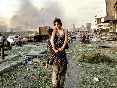 Photo of صور انفجار بيروت.. الأفضل لعام 2020
