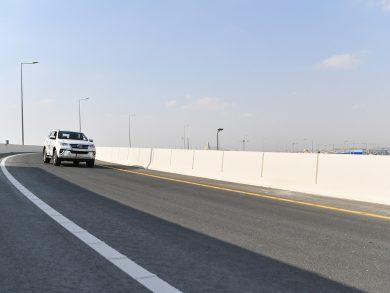 """Photo of """"أشغال"""" تفتتح الجمعة سابع وأعلى جسر على تقاطع أم لخبا (اللاندمارك)"""