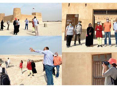 Photo of «المتاحف» تنظم جولة لموقع الزبارة