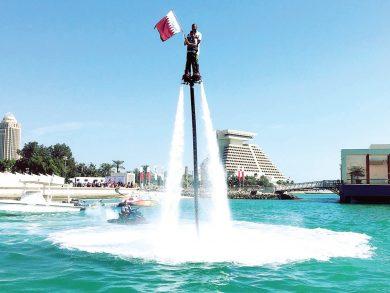 Photo of موسم الرياضات البحرية ينطلق على الكورنيش