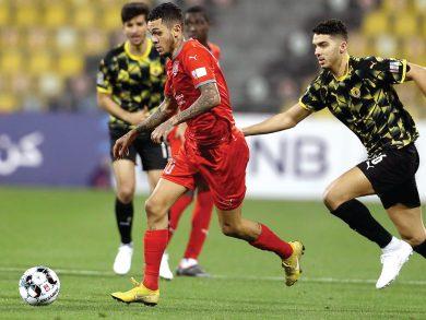 Photo of تعادل الدحيل مع نادي قطر بهدف لمثله