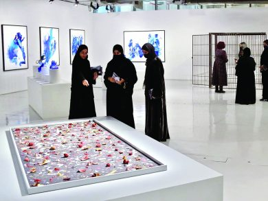 Photo of مطافئ يعرض أعمال المشاركين في النسخة الخامسة من برنامج إقامة الفنانين