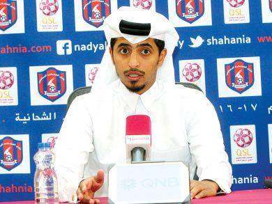 Photo of مسعد الحمد مديرًا لفريق المرخية