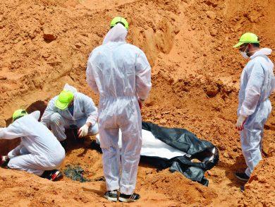 Photo of 400 مفقود بترهونة.. والعثور على 44 مقبرة جماعية