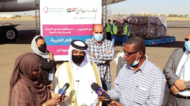 Photo of مساعدات طبية قطرية إلى السودان