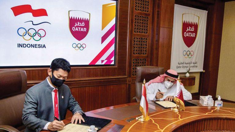 Photo of مذكرة تفاهم بين اللجنة الأولمبية ونظيرتها الإندونيسية