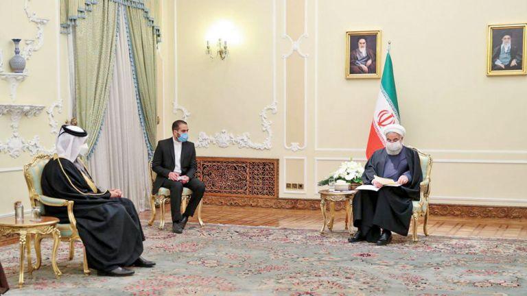 Photo of رسالة من صاحب السمو إلى الرئيس الإيراني