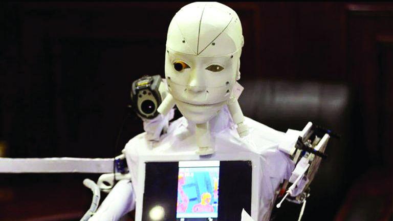 Photo of روبوت لعلاج مرضى كورونا عن بُعد