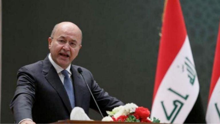 Photo of الرئاسة العراقية تجدد موقفها الداعم للقضية الفلسطينية
