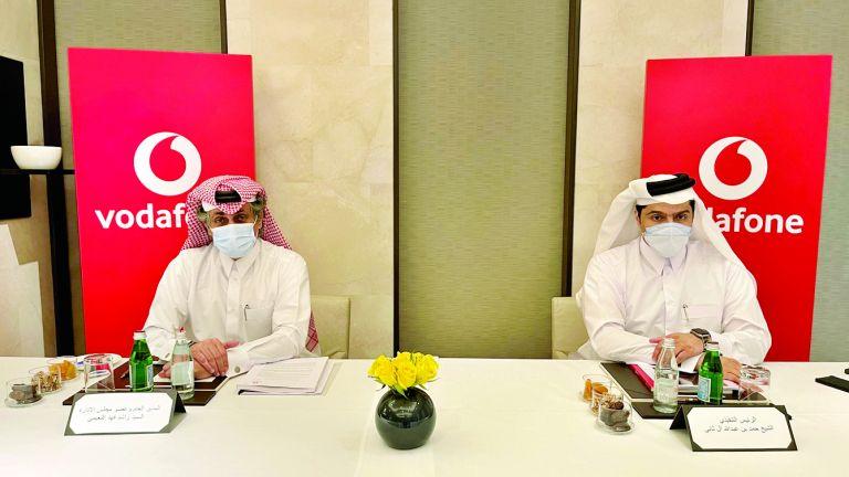 Photo of عمومية فودافون قطر توزع 5 % أرباحًا نقدية