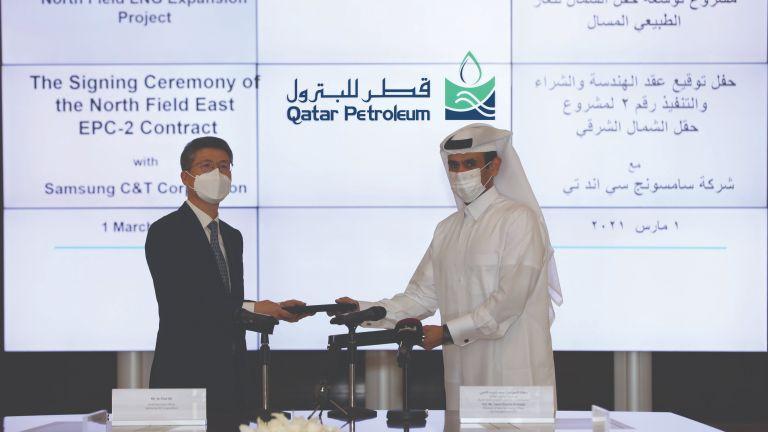 Photo of قطر للبترول تمنح عقداً لبناء مرافق تخزين وتحميل الغاز الطبيعي المسال