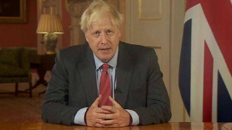 Photo of رئيس الوزراء البريطاني يتعهد بالتصدي لدوري السوبر الأوروبي الجديد