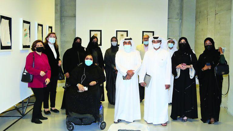 Photo of افتتاح معرضين في مطافئ يستكشفان الذكاء الاصطناعي وأزمة النفايات