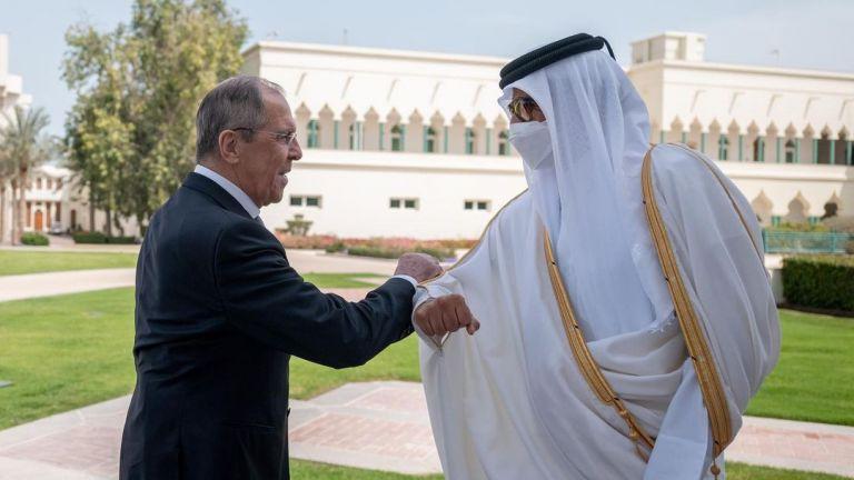 Photo of صاحب السمو يستقبل وزير الخارجية الروسي