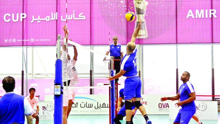Photo of فوز الغرافة والخور ضمن التصفيات المؤهلة لكأس سمو الأمير للكرة الطائرة