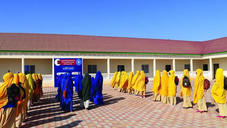 Photo of مشاريع تعليمية جديدة من قطر الخيرية في الصومال