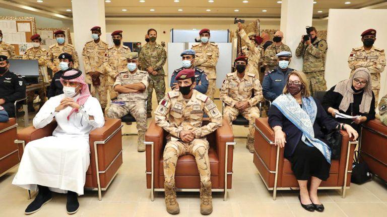 Photo of قطر وأمريكا تعززان التعاون الأمني والعسكري