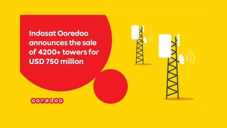 Photo of Ooredoo تبيع 4200 برج اتصالات في إندونيسيا