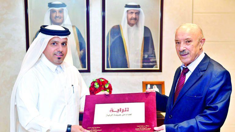 Photo of السفير الجزائري في ضيافة الراية