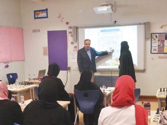 Photo of افتتاح الدورة التأسيسية لتطوير القدرات الذهنية للطلاب